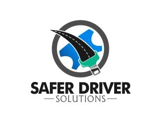 Safer Driver Solutions logo design