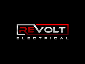 REVOLT ELECTRICAL logo design