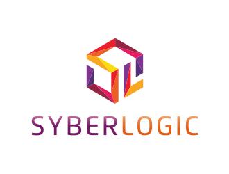 SyberLogic logo design