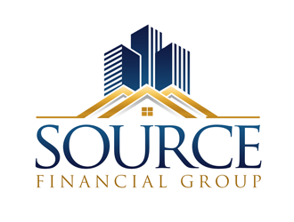 Source Financial Group logo design