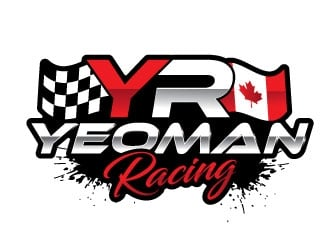 YEOMAN RACING logo design