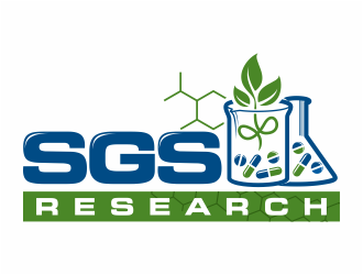 SGS Research logo design