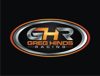 Greg Hinds Racing logo design