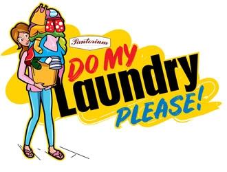 Do My Laundry Please logo design