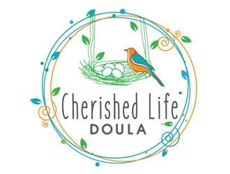 Cherished Life Doula logo design