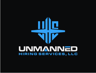Unmanned Hiring Services, LLC logo design