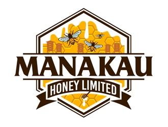 Manakau Honey Limited logo design
