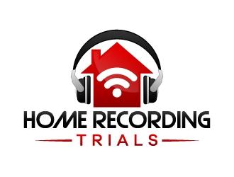 Home Recording Trials logo design