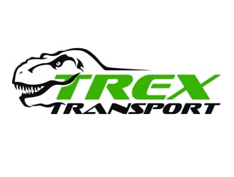 Trex Transport logo design