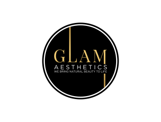 Glam Aesthetics logo design