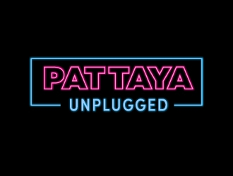 Pattaya Unplugged logo design