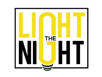 Light the Night logo design