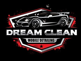 Dream clean mobile detailing  logo design