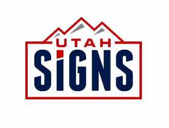 Utah Signs logo design