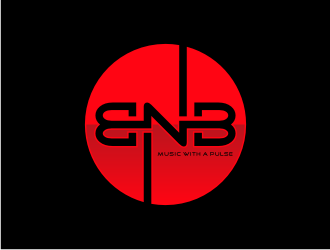 BNB   (tagline) Music with a pulse logo design