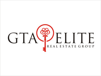 GTA Elite Real Estate Group logo design