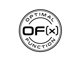 Optimal Function     OF(x) logo design