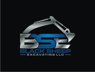 Black Sheep Excavating LLC logo design