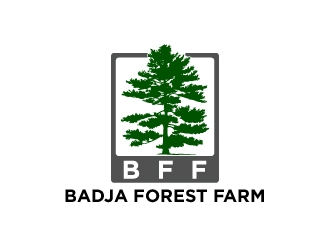 Badja Forest Farm logo design
