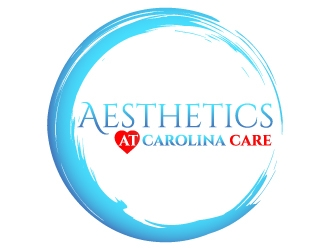 Aesthetics at Carolina Care logo design