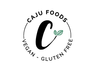 Caju Foods logo design