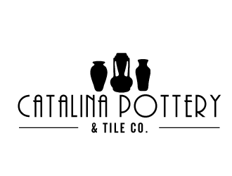 Catalina Pottery & Tile Co.  logo design