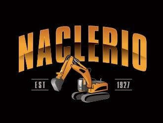 Naclerio Contracting Co logo design