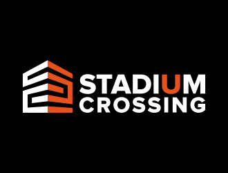 Stadium Crossing logo design