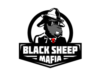 Black Sheep Mafia logo design
