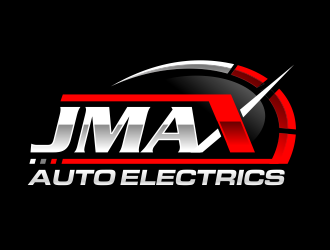 JMAX Auto Electrics logo design