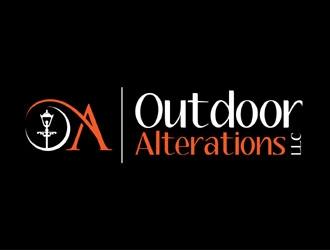 Outdoor Alterations, LLC logo design