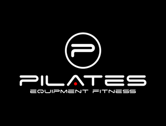 Pilates Equipment Fitness logo design