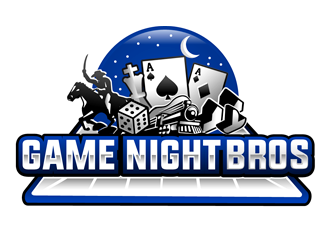 Game Night Bros logo design