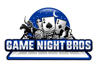 Game Night Bros logo design
