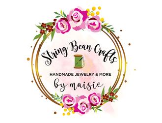 String Bean Crafts logo design
