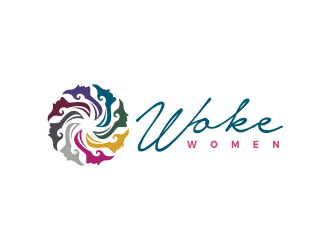 Woke Women logo design