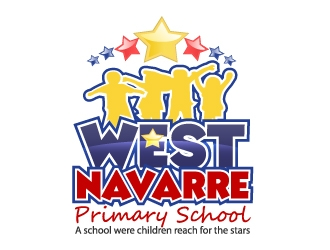 West Navarre Primary School logo design