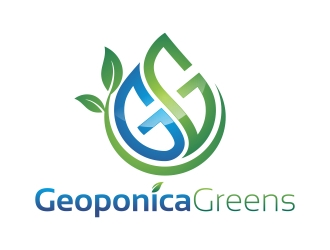 Geoponica Greens  logo design winner
