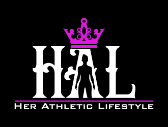 Her Athletic Lifestyle logo design