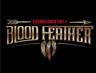 BLOODFEATHER logo design
