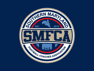 Southern Maryland Football Coaches Association logo design