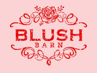Blush Barn/ blush barn logo design winner