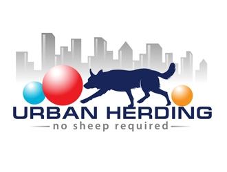 Urban Herding logo design