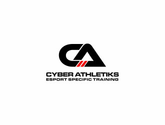 Cyber Athletiks logo design winner