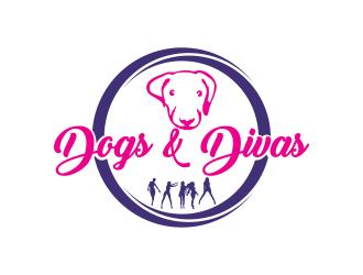 Dogs & Divas logo design by qqdesigns