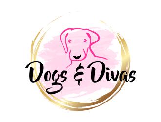 Dogs & Divas logo design by done