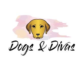 Dogs & Divas logo design by Suvendu
