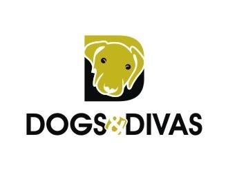 Dogs & Divas logo design by hariyantodesign