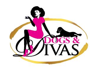 Dogs & Divas logo design by THOR