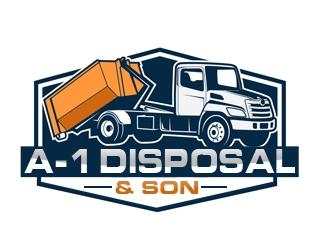 A-1 Disposal  logo design
